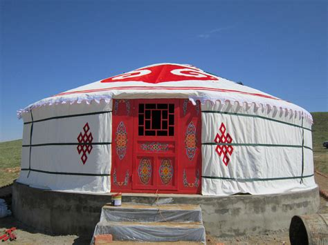30 sq m 30 square meters luxury traditional mongolian yurt with