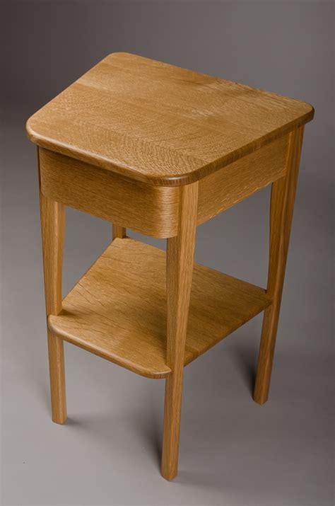 White Oak Bedside Table High Road Custom Woodworking 187 Bedside Table Quartersawn