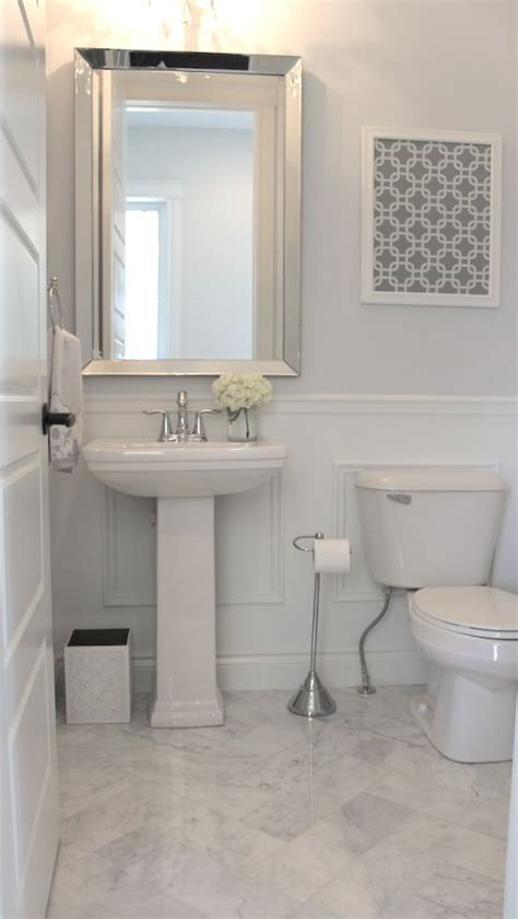 Half Bath Wainscoting by The World S Catalog Of Ideas