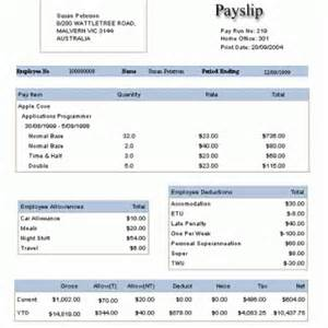 employee payslip template archives word templates