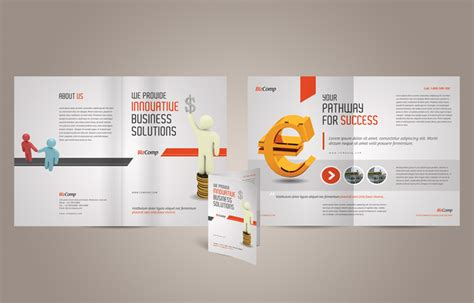 half page brochure template free other psd file page 2 newdesignfile