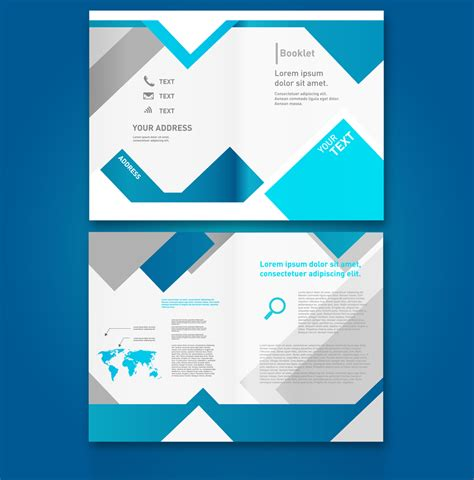 booklet brochure template free web elements from may 2014 187 css author