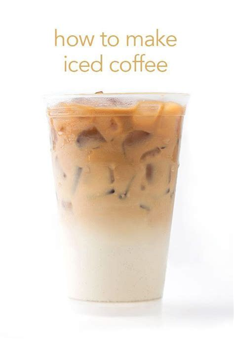 17 best ideas about iced coffee at home on