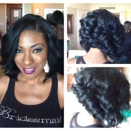 pro hairstyles atl partial sew in bob with indie remy yelp
