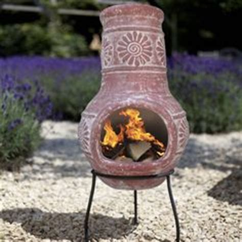 Clay Patio Heater Chiminea On Clay Roosters And Outdoor Fireplaces
