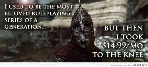 Elder Scrolls Memes - skryim 2 nerd2 nerd