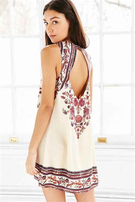 Where To Buy Urban Outfitters Gift Card - ecote guinevere open back frock dress urban outfitters