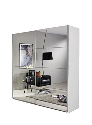 kleiderschrank 2 türig mit spiegel rauch schwebetrenschrank kleiderschrank mit spiegelfront