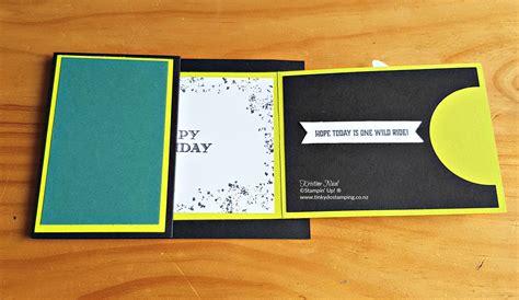 Z Fold Gift Card Holder - one wild ride z fold gift card holder extravaganza 3 tinkydo sting