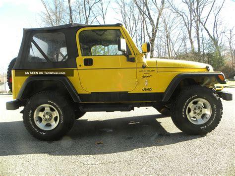 2001 Jeep Wrangler Sport 2001 Jeep Wrangler Sport