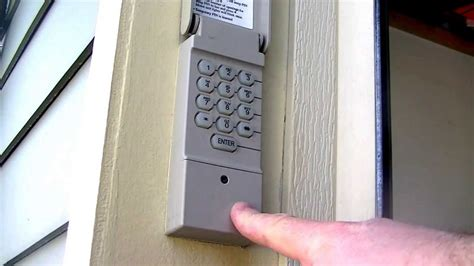 Garage Door Keypads Are Keypad Garage Door Controls Safe