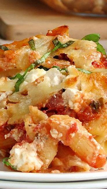 baked ziti with ricotta recipe baked ziti baked ziti with ricotta and ricotta