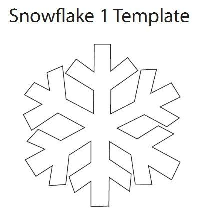best photos of snowflake templates to cut out small cut out snowflake template invitation template