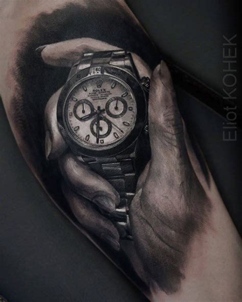 realistic rolex daytona best tattoo ideas amp designs