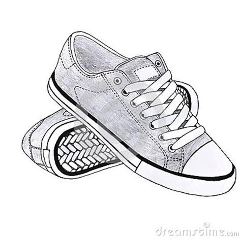 imagenes de zapatos a lapiz zapatos de los deportes stock de ilustraci 243 n imagen