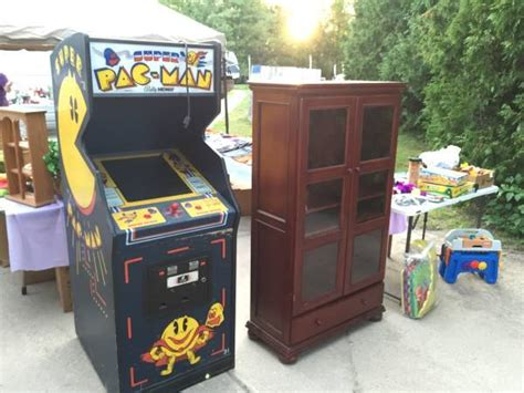 super pac man arcade cabinet not new