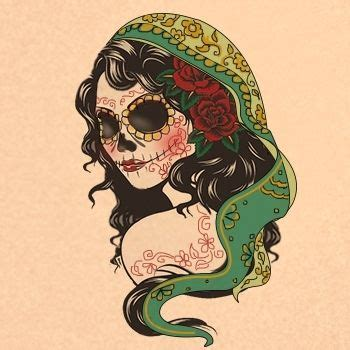 gypsy skull tattoo designs best 25 design ideas on
