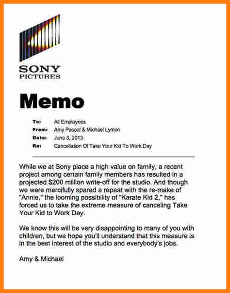 How To Write A Memo To Employees | 9 how to write memo for employees ledger paper