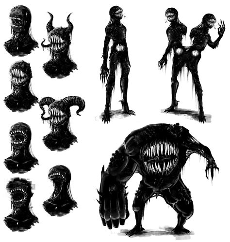 concept tar monster by thebigbad wolf on deviantart