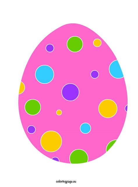 colored easter eggs colored easter egg printables happy easter 2018