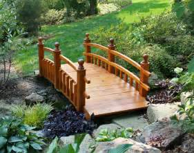 Backyard Bridges by Japanese Garden Bridge Design Architecture Interior Design
