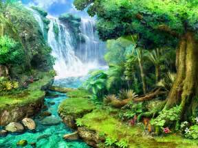 beautiful waterfalls with flowers tropical waterfalls claire hart tropical thief