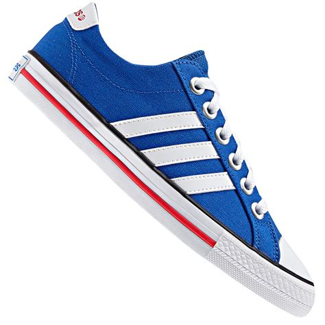 Adidas Slop Canvas adidas neo label canvas vl 3 stripes derby trainers