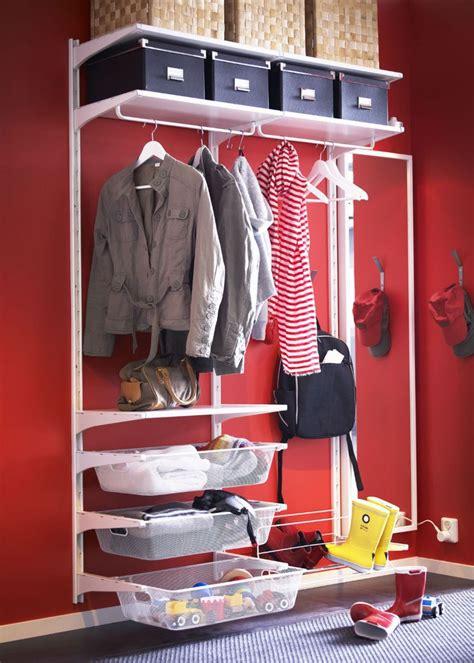 ikea entryway closet ikea algot hallway storage laundry room pinterest