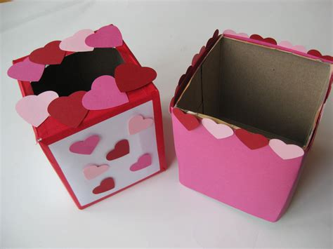 ideas for boxes easy box craft for