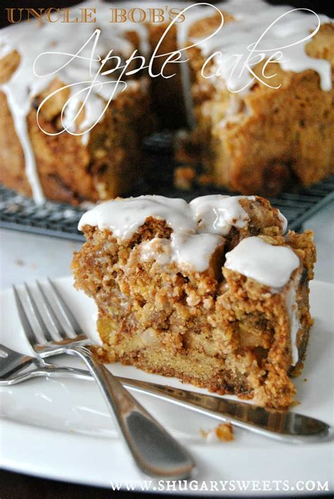 apple cake apple cake with honey glaze shugary sweets