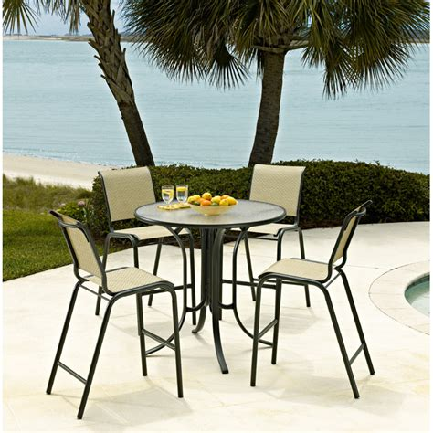 High Table Patio Set High Table Patio Furniture Set High Top Patio Table And Chairs Marceladick Furniture