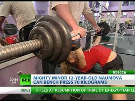 12 year old bench press girl power lifting amazing 12 year old bench presses 70