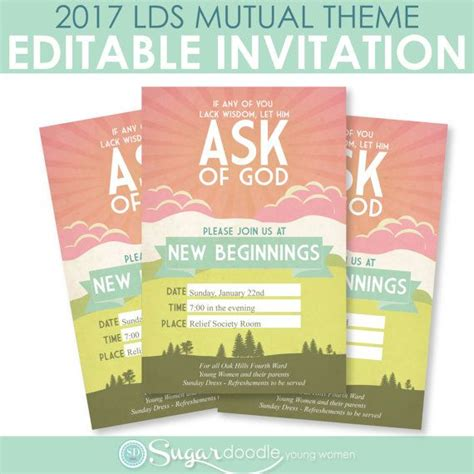 themes about new beginnings 2017 lds mutual theme young women new beginnings diy