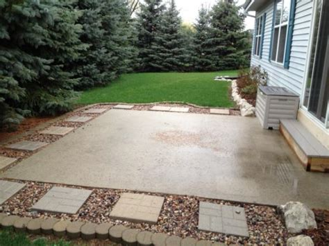 concrete patio ideas for small backyards patio ideas for a small yard landscaping gardening ideas