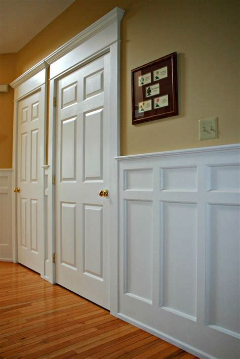 Recessed Panel Wainscoting by Mission Style Recessed Panel Wainscoting Door Casings Arts