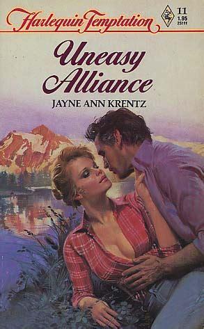 Novel Talents Jayne Krentz Harlequin uneasy alliance by jayne krentz fictiondb