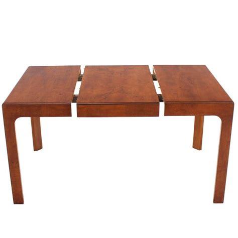 Square Extension Dining Table Henredon Square Dining Table With One Extension Board For Sale At 1stdibs