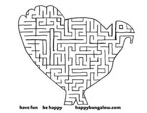 thanksgiving maze 8 best images of printable thanksgiving mazes