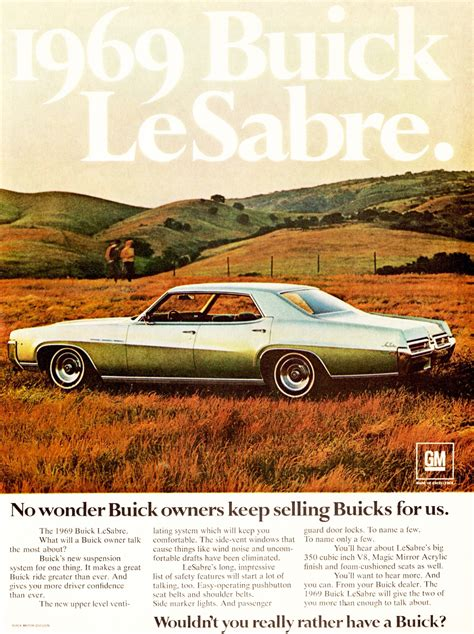 1969 buick lesabre ad classic cars today
