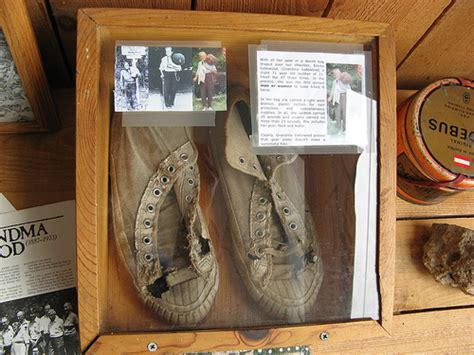 grandma gatewood s shoes famous grandma was the first to