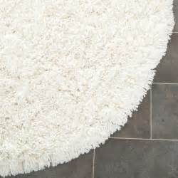 White Fuzzy Area Rug Safavieh Shag White Area Rug Reviews Wayfair