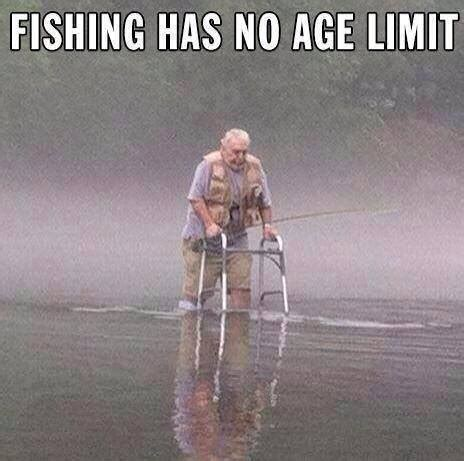 in color age limit fishing has no age limit dobrador