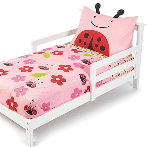 skip hop bedding skip hop 174 zoo 4 piece ladybug toddler bedding and