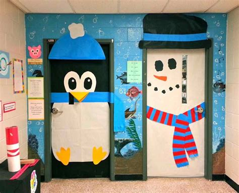 christmas classroom door themed door decorating www indiepedia org