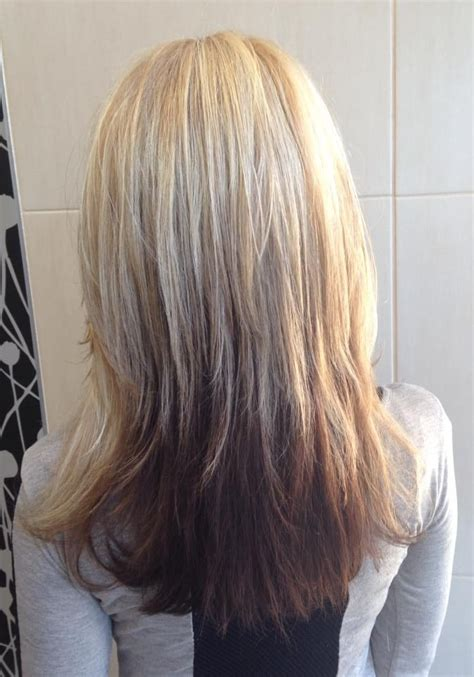 reverse ombre on short hair reverse ombre straight hair color cuts by lisa reid