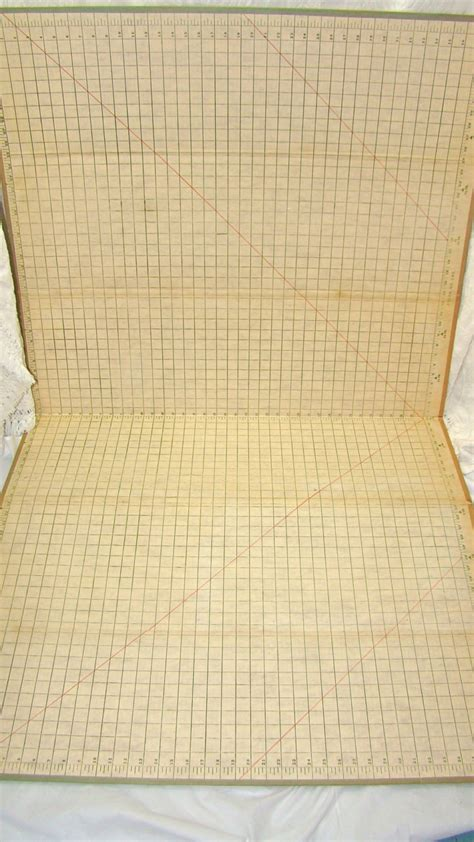 pattern sewing cutting board vintage fabric cutting board pattern cutting mat sewing
