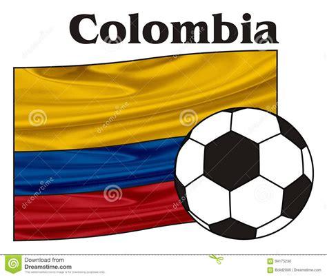 colombia   flag cartoon vector cartoondealercom