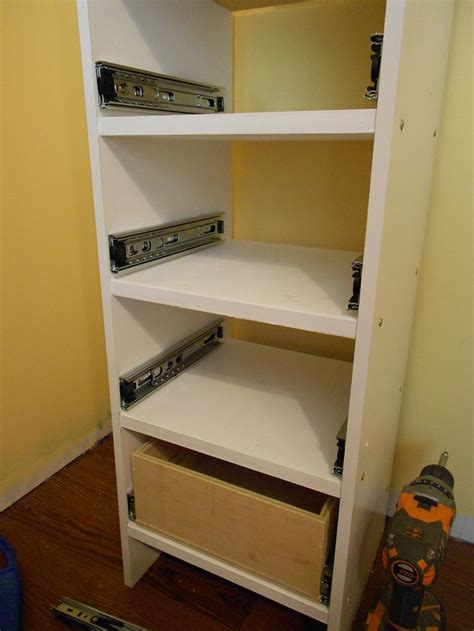 installing drawers in cabinets 81 best workshop cabinet construction images on pinterest
