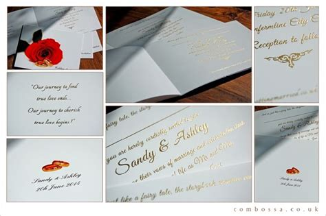combossa wedding invitations 7 best bespoke wedding invitations images on