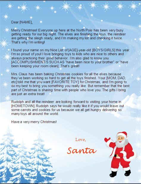 printable letters from santa australia free editable santa letters search results calendar 2015